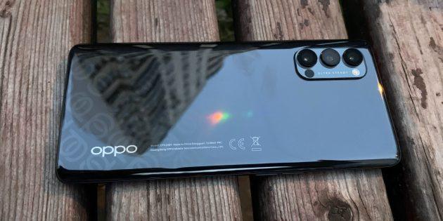 Дизайн Oppo Reno4Pro 5G