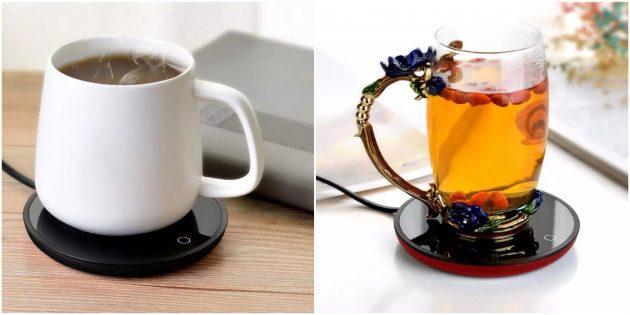 Подставка-нагреватель для чашки