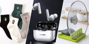 Находки AliExpress: одноразовые маски, наушники Lenovo, плойка для ресниц