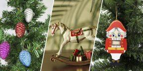 Старый добрый Новый год: 10 ёлочных игрушек с AliExpress в ретростиле