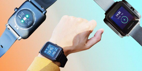 Обзор Amazfit Bip S Lite — спортивных часов с необычным экраном и умными функциями