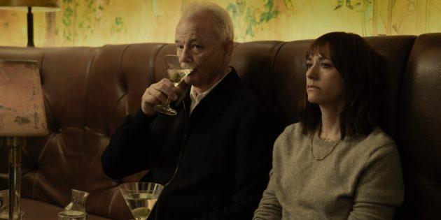 Билл Мюррей и Рашида Джонс в фильме «Последняя капля»
