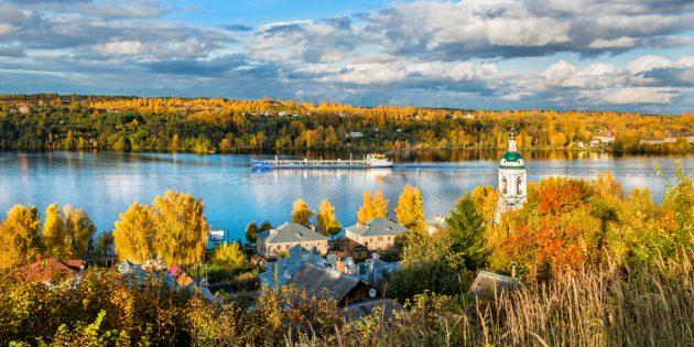 Куда поехать осенью в России: Плёс
