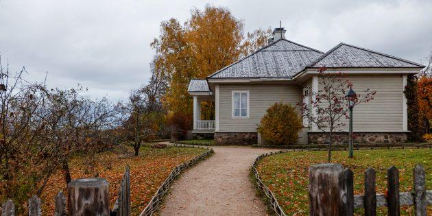 Куда поехать осенью в России: Пушкинские Горы