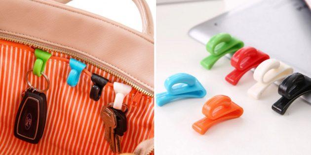 Крючки для сумки
