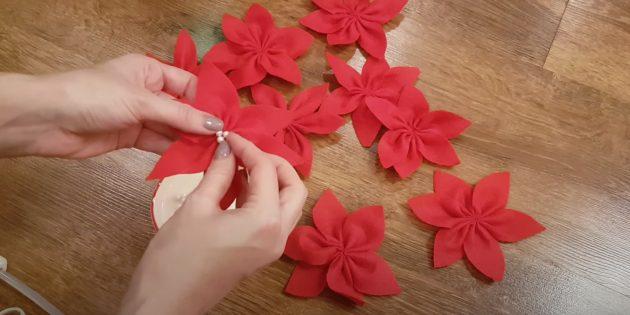 Украсьте цветки