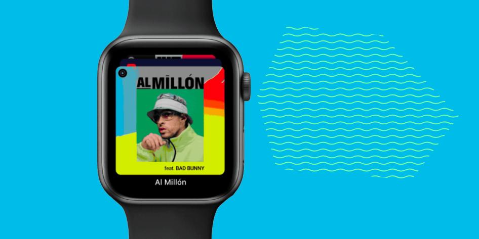 YouTube Music выпустили на Apple Watch