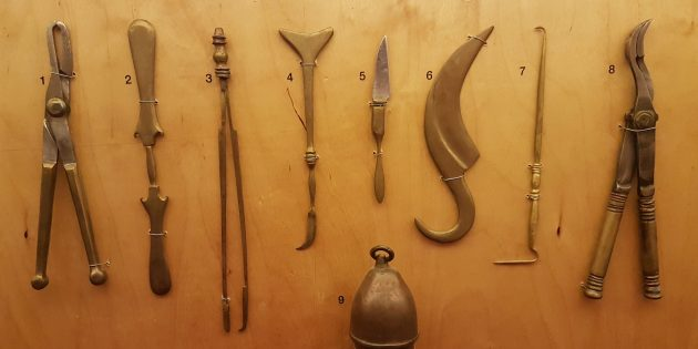 Хирургические инструменты древних греков