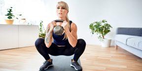Тренировка дня: 5 упражнений для прокачки ног и похудения