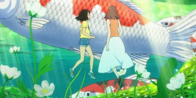 Кадр из аниме «В Стране чудес»