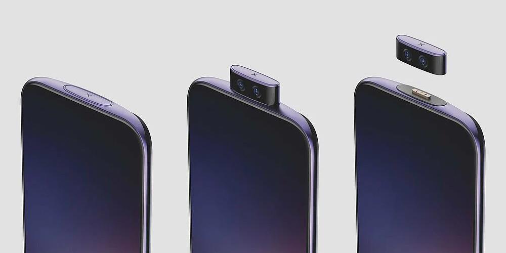 Vivo показала смартфон с отсоединяемой камерой