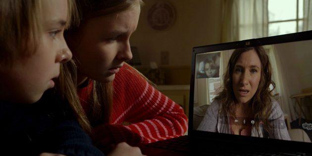 Кадр из американского фильма ужасов «Визит»