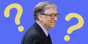 2 вопроса Билла Гейтса для решения больших проблем