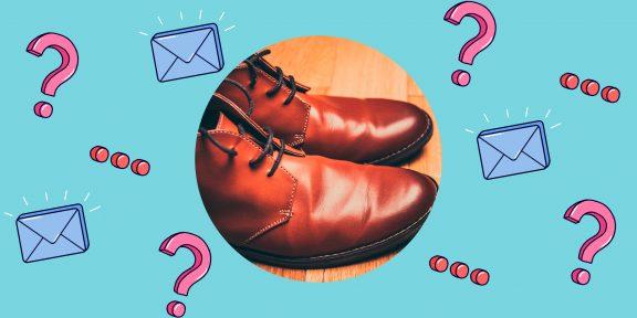 Как растянуть кожаную обувь?