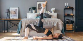 Тренировка дня: 7 шикарных упражнений для крепких ног и ягодиц