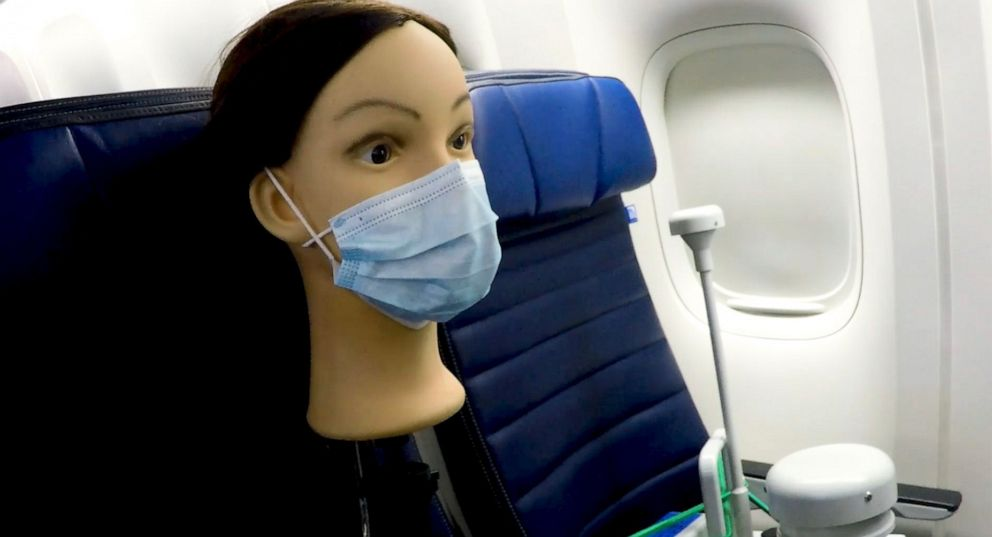 коронавирус в самолёте