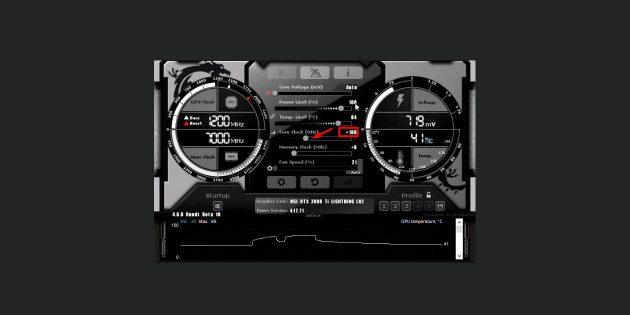 Как разогнать видеокарту: повышайте значение Core Clock