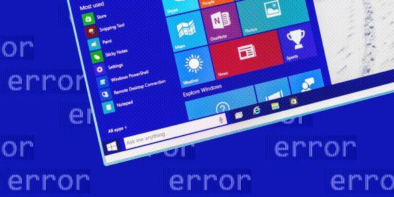 9 ошибок при установке Windows 10 и способы их исправить