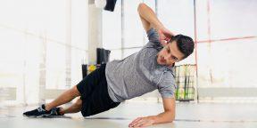 Тренировка дня: 4 крутых упражнения на мышцы кора от бойца MMA