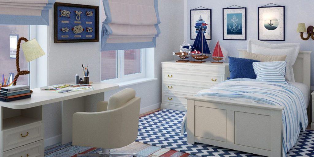 Лаконичная мебель прослужит ребёнку несколько лет