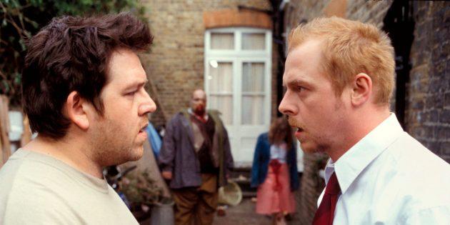 Кадр из английского фильма «Зомби по имени Шон»