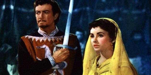 Фильмы про рыцарей: «Айвенго»