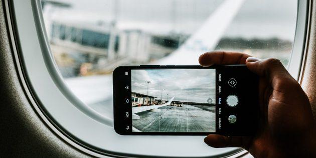 Если не включить режим «Полёт» в самолёте, смартфон может спровоцировать катастрофу