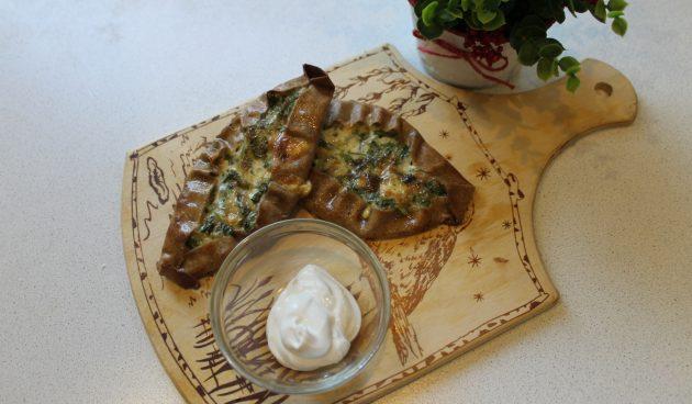 Калитки с сыром и зеленью