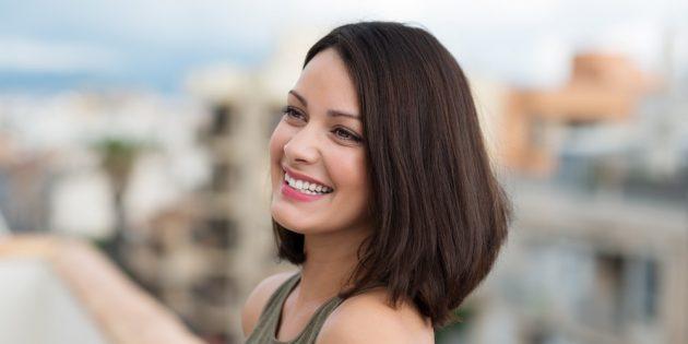 Женские стрижки для круглого лица: удлинённое градуированное каре