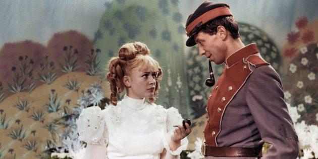 Кадр из советского фильма «Старая, старая сказка»