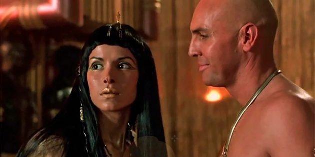Жрец Имхотеп и супруга Тутанхамона Анксунамун