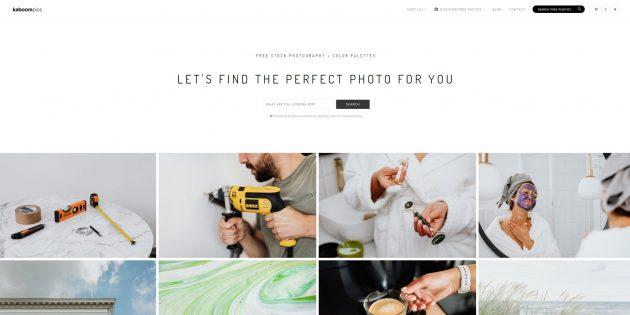 Бесплатные фотостоки: Kaboom Pics