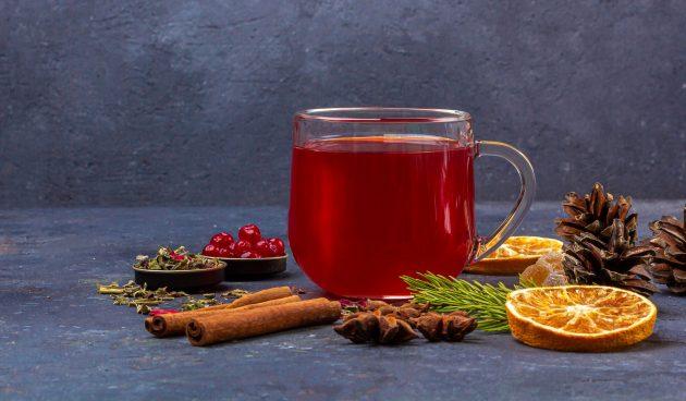 Согревающий пунш с ромом и цитрусовым соком