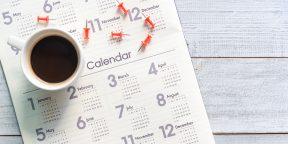 В России обновили календарь праздничных дней на 2021 год