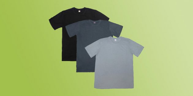 подарки мужчине на Новый год: комплект футболок