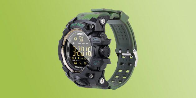 подарки мужчине на Новый год: фитнес-трекер / смарт-часы