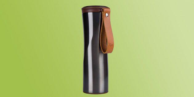 подарки мужчине на Новый год: термокружка/термос