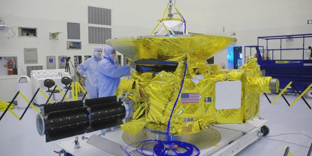 РИТЭГ на космическом зонде New Horizons до его отправки к Плутону