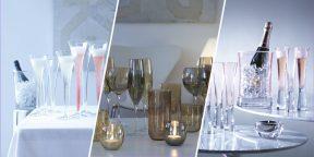 10 стильных фужеров для шампанского