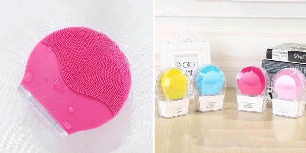 штуки для девушек: электрическая щётка для чистки лица
