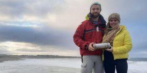 У берегов Ирландии нашли капсулу времени с российского ледокола. Её пришлось вскрыть на 30 лет раньше