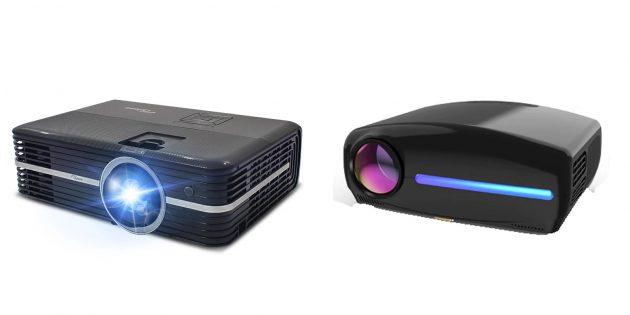 Подарки мужчине на Новый год: проектор