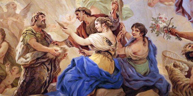 «Янус и мойры» Луки Джордано