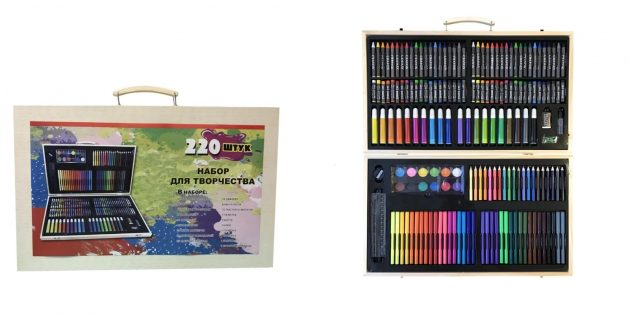 Набор для творчества из 220 предметов