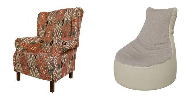 Подарки мужчине на Новый год: мягкое кресло