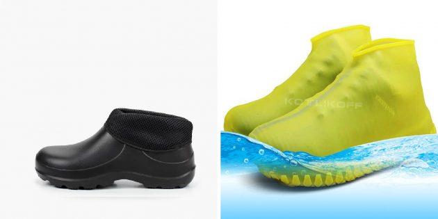 Что подарить дедушке на Новый год: Садовая обувь