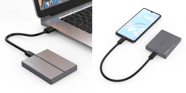 Портативный SSD-накопитель
