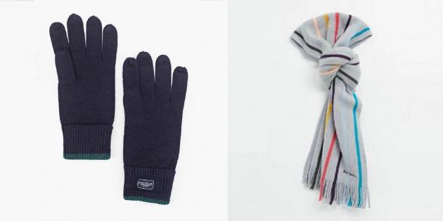 Что подарить парню на Новый год: Шарф или перчатки