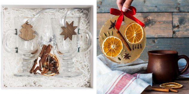 Подарки для тех, кто плохо переносит холод: набор для приготовления глинтвейна