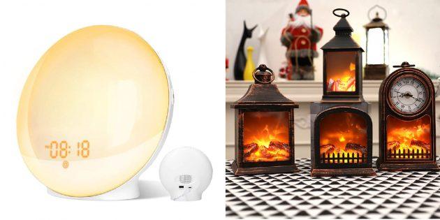 Подарки для тех, кто плохо переносит холод: оригинальный светильник